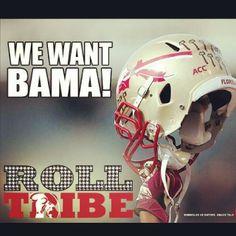 WE WANT BAMA!!