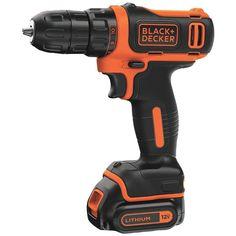 Black & Decker 12v Max* Cordless Lithium Drill And Driver – USMART NY