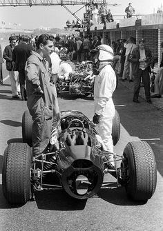 Jackie Stewart, BRM P261, 1966 Dutch Grand Prix, Zandvoort