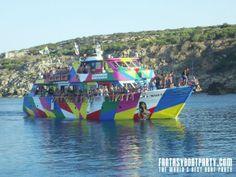 Fantasy Boat Party, Ayia Napa