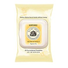 """Burt's Bee Baby Bee Face & Hand Cloths 30-Count - Burt's Bees - Babies """"R"""" Us"""