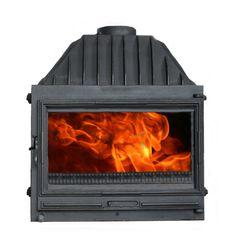 Żeliwny powietrzny wkład kominkowy #Kornak 5 http://www.wkladykominkowe.net.pl/produkt/zeliwny-powietrzny-wklad-kominkowy-kornak-5 #fireplace #kominek