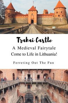 Trakai Castle: A Medieval Fairytale in Lithuania - Ferreting Out the Fun Lithuania Travel, Poland Travel, Italy Travel, Parks, Regions Of Europe, Travel Around Europe, Amazing Adventures, Ultimate Travel, European Travel