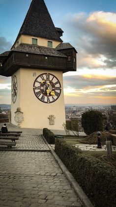 Graz Austria, Big Ben, Places To Go, Tower, Clock, Europe, Country, Building, Pictures