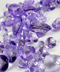 "Lavender Diamonds $8.50 With 3 size acrylic diamonds.    10.5 ounces of assorted size acrylic vase gems. Three different sizes, 1/2"" x 3/4"" , 1"" x 1-1/8"" and 1-1/4"" x 1-1/2"""