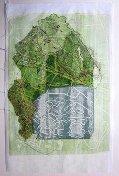 Land Fabrics | Alison Stewart Artist