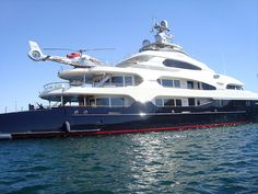 Greg Norman's Yacht in Cabo. Jealous!