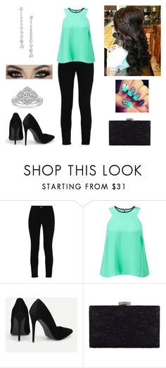 Stars can't shine without darkness. by paoladouka on Polyvore featuring Miss Selfridge, STELLA McCARTNEY, Chesca and Nina
