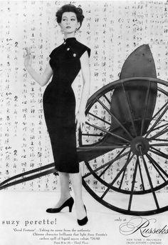 Dovima, Vogue August 1955