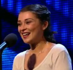 Keep an eye on this young lady - she could just be the next winner of this year 'Britains Got Talent' - Simon Cowell described her voice as being 'like liquid gold. You can view her audtion here: http://socialmediabar.com/voice-of-liquid-gold