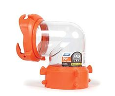 Camco's RV RhinoFLEX Clear Sewer Hose Swivel Fitting has a swivel lug and bayonet fitting for a secure connection to your RV's waste valve fitting. Clear fitting allows you to see when holding tank Rv Water Filter, Vintage Trailers For Sale, Used Rvs For Sale, Rv Parts, Camping Life, Camping Kitchen, Camping Cooking, Camper Storage, Rv Accessories