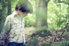 Image result for boy in forest