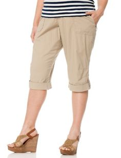 Motherhood Plus Size Secret Fit Belly(r) Convertible Maternity Pants $29.99 (save $9.99)