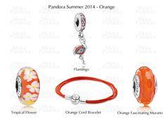 Pandora summer 2014 Orange