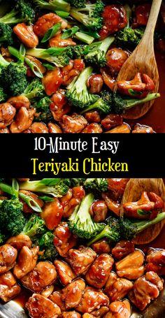 10-Minute Easy Teriyaki Chicken #chickenteryaki