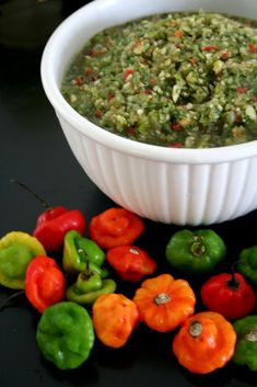 Puerto Rican Sofrito  -  this sauce is the main ingredient of Puerto Rican food, used in almost every dish we make whether stews, rice, meat, fish and chicken .