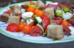 Tomato Panzanella Salad from Mom's Kitchen Handbook