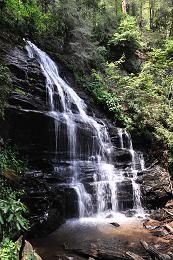 Enota Mountain Retreat- miles of hiking trails, four waterfalls, five streams, two ponds, organic garden, farm, camping, cabins....