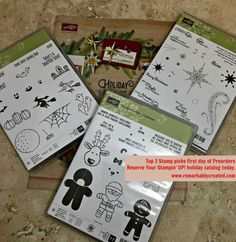 Stampin' UP! 2016 Holiday Catalog Preview #stampinup #remarkablycreated