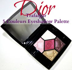 going on my Christmas wish list---so pretty Dior Trafalgar 5 Couleurs Eyeshadow Palette Swatches Review Looks