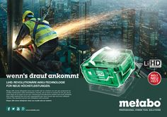 Metabo Internationale Markenkampagne