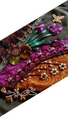 I ❤ crazy quilting . . . Sharon B. Pintangle  diamondCQ-iris-600