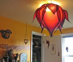 Silk Lotus Light Cover by littlewingfaerieart on Etsy