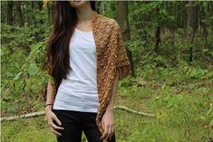 Hnědý šátek uháčkovaný z akrylové příze která svým vzhledem a leskem připomíná bavlnu. Vest, Jackets, Fashion, Down Jackets, Moda, Fashion Styles, Fashion Illustrations, Jacket