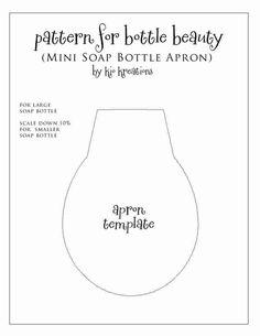 DIY Tutorial: Retro 1950's Soap Bottle Apron // Hostess with the Mostess®