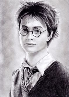 Harry Potter by ~izziwizVIII on deviantART