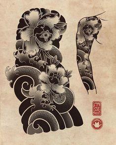 Japan Travel April - - I Love Japan Wallpaper - Japanese Flower Tattoo, Japanese Dragon Tattoos, Japanese Tattoo Designs, Japanese Sleeve Tattoos, Japanese Flowers, Japanese Art, Hanya Tattoo, Irezumi Tattoos, Japan Tattoo Design