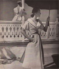 Claire McCardell, Bazaar May 1949 Louise Dahl-Wolfe