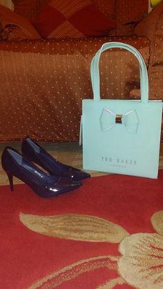 Handbag Ted Baker from Dubai.. High heels from Dubai  :)
