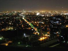 Beverly Hills / Olympic at night. Download this royalty-free image on morguefile.com.