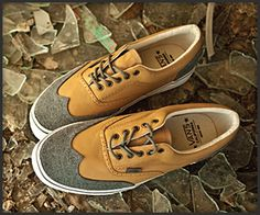 On the look out for 'em. VANS California Era Wingtip