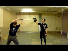 Pad workout for Historical European Martial Arts - YouTube