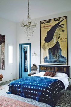 Bedroom ideas, bedroom design and bedroom decorating ideas from the House & Garden archive. If you have a bedroom design conundrum, and aren't sure which bedroom furniture to choose, we're here to help. Home Living, Living Spaces, Living Room, Home Bedroom, Bedroom Decor, Bedroom Ideas, Bedroom Lighting, 1920s Bedroom, Glam Bedroom