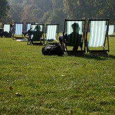 Get yourself a deck chair and soak up those spring rays