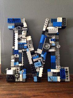 Lettre M de mur personnalisé. par MosaicTreasureBox sur Etsy More