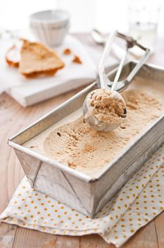 Honeycomb Ice Cream .