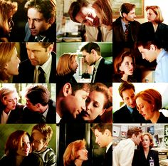 Mulder and Scully have no concept of personal space.