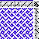 Draft: simplified celtic braid (for when I have a bigger loom)
