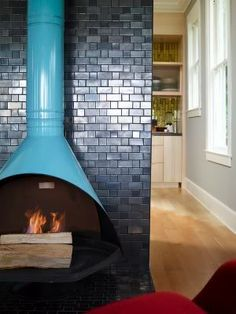 totally want a retro electric fireplace! Any ideas where to find one?