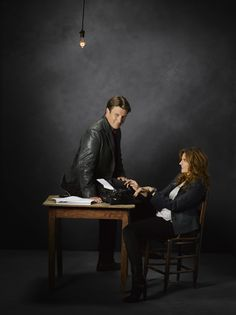 Additional Castle Season 5 promotional photos have been released by ABC of Stana Katic, Nathan Fillion, and the rest of the Castle cast. http://www.examiner.com/article/additional-castle-season-5-promotional-photos-released