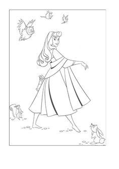 Tegninger til Farvelægning Disney 317
