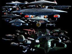 star-trek: TREK Ships Desktop Screenshot by Carthoris