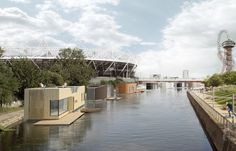 """Our latest Dezeen x MINI Living video explores the """"aquatecture"""" of Baca Architects, which includes floating houses, villages and a Grand Prix track"""