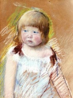 Pastel by Mary Cassett (1845-1926).