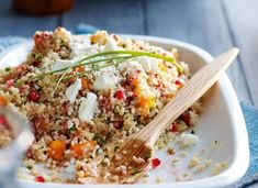 Packing this for lunch tomorrow: Quinoa Salad with Pomegranates & Persimmons   Salads