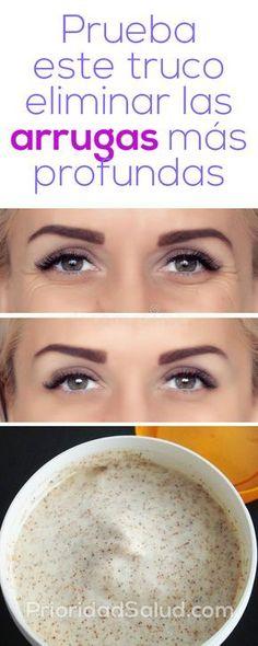 Prueba este truco para eliminar las arrugas más profundas #piel